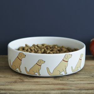 Golden Retriever Dog Bowl - food, feeding & treats