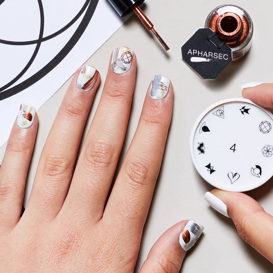 Call It Magic Nail Art Stamp By Apharsec Notonthehighstreet