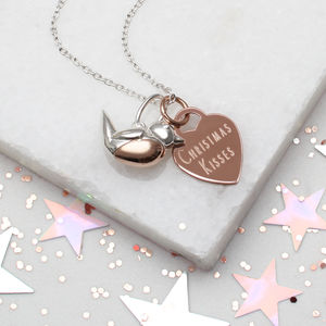Personalised Robin Red Breast Necklace
