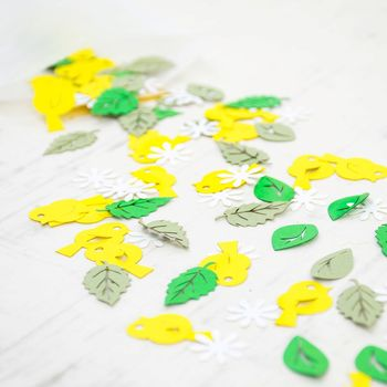 Little Chick Easter Table Confetti