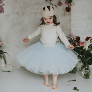 Meadow Blue Tutu
