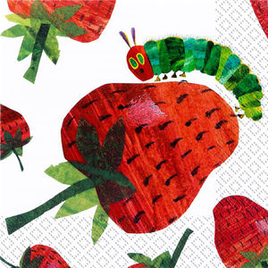 Pack Of 20 Hungry Caterpillar Party Napkins