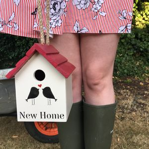 New Home Birdhouse