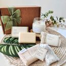'Pause' Vegan Organic Personalised Pampering Gift