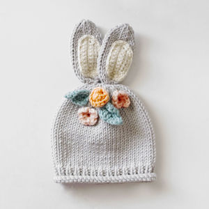 Make Your Own Baby Bunny Woodlands Hat Kit