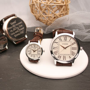Personalised His And Hers Wrist Watch - watches