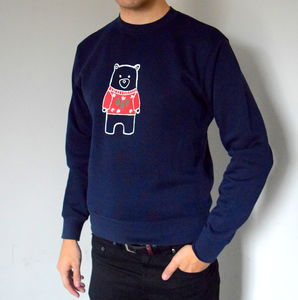 Adult Christmas Bear Christmas Jumper