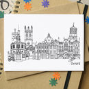 Oxford Landmarks Greetings Card