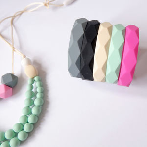 Silicone Teething Bangle - baby care