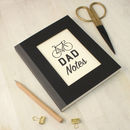 Personalised Father's Day Bike Notebook