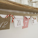 Christmas Advent Envelope Bunting