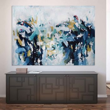 Large Original Landscape Canvas Painting Abstract Art