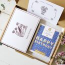 Letterbox Happy Birthday Flowers And Chocolate