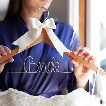 'Bride' Wedding Dress Hanger