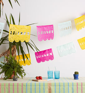 Fiesta Papel Picado - new in wedding styling