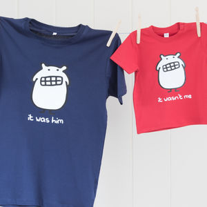 Father And Child T Shirt Set - for fathers
