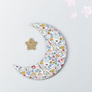 Betsy Pastel Liberty Moon Wall Hanging