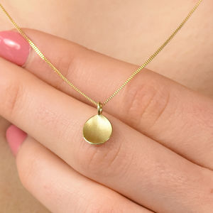 Petal Pendant In Ethical 18ct Gold