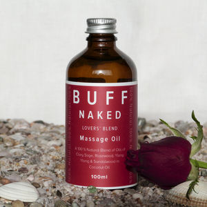 Valentines Buff Naked Lovers' Blend Massage Oil - massage & aromatherapy