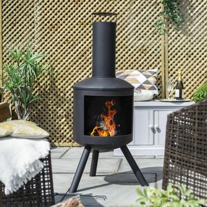 Contemporary Chiminea