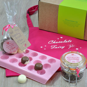 Personalised Chocolatier Kit With Apron