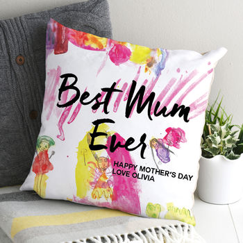 Personalised Childrens Painting Cushion