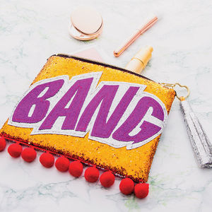 The Bang Clutch Bag - 30th birthday gifts