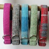 Harris Tweed Dog Collar - pets