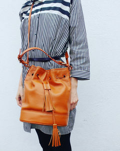 The Islington Bucket Bag - cross-body bags