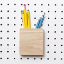 Pegboard Stationery Holder