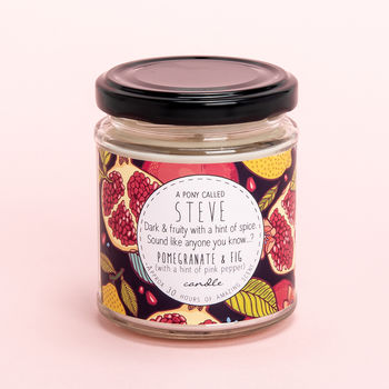 Pomegranate And Fig Candle