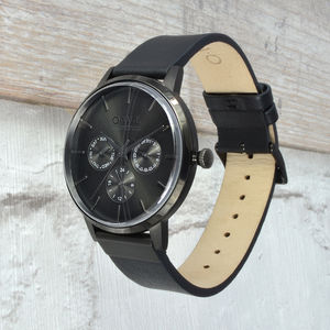 Gents Pembrey Watch From British Brand O.W.L - personalised jewellery
