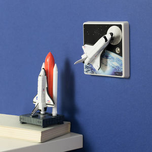 Space Rocket Light Switch For Space Themed Bedrooms
