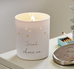 Personalised Constellation Candle