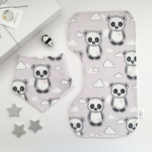 Panda And Cloud Little Dribblers Gift Set - gift sets