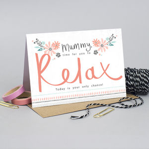 Birthday Card Mummy - summer sale
