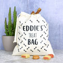 Personalised Dog Treat Bag