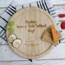 Personalised 'BRIE'utiful Day Cheeseboard