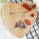 Personalised Wedding Heart Board