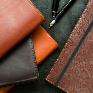 Personalised Leather Bound Moleskine Classic Journal