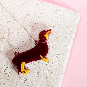 Dachshund Sausage Dog Necklace - women's jewellery
