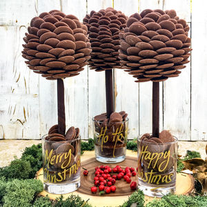 Personalised Chocolate Button Tree