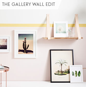 the gallery wall edit