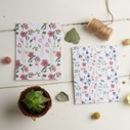 Floral Plantable Wildflower Seed Card