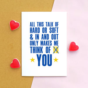 Funny Brexit Card For Lover