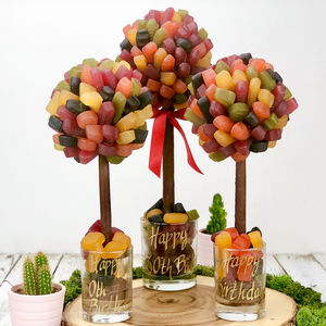 Personalised Wine Gum Sweet Tree - summer sale