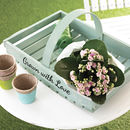 Personalised Garden Trug