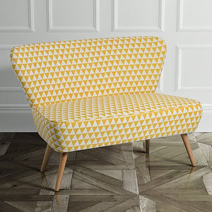 Retro 1950s Cocktail Sofa - furniture