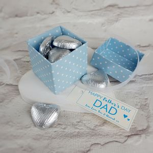 Father's Day Chocolate Box - personalised