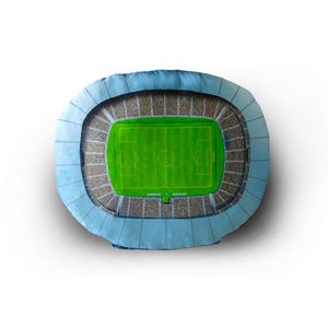 Football Stadium Plush Dog Bed Small - cats